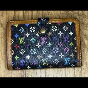Authentic Louis Vuitton Multicolor Wallet